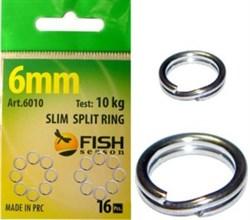 "Кольцо заводное ""SLIM"", ф 4 мм ( 2,4 кг), (упак. 20 шт) - фото 5009"