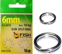 "Кольцо заводное ""SLIM"", ф 5 мм ( 7 кг), (упак. 18 шт) - фото 5011"