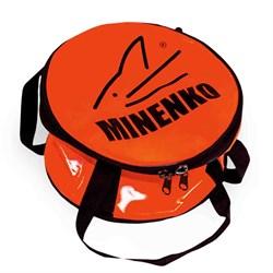 Ведро для прикормки мягкое с крышкой MINENKO D40 (бубен) - фото 5186
