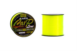Леска KAIDA Carp Line Sinking Fluo Yellow 1000м 0.309мм 7.59кг - фото 5500