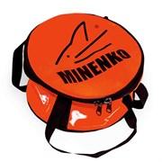 Ведро для прикормки мягкое с крышкой MINENKO D40 (бубен)