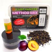 Method mix Pellets + Fluoro + Liquid Plum (слива) CARPHUNTER