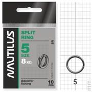 Кольцо Nautilus заводное Split ring 5мм тест 8кг