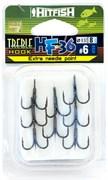 Тройной крючок HITFISH HF-36 Needle point №4 уп (8 шт)