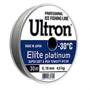 Леска Ultron Elite Platinum 30м 0,12мм 1,7кг