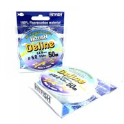 Леска флюорокарбоновая HITFISH Deline #4,0 d0,352мм 7,48кг 50м