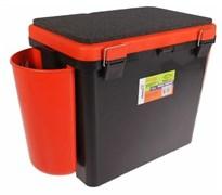 Ящик зимний Helios FishBox односекционный 19л оранжевый