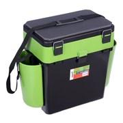 Ящик зимний Helios FishBox 19л двухсекционный зеленый