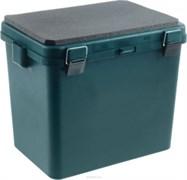 Ящик-М зимний Helios односекционный зеленый
