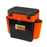 Ящик зимний Helios FishBox 19л двухсекционный оранжевый