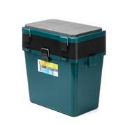 Ящик-М зимний Helios двухсекционный зеленый