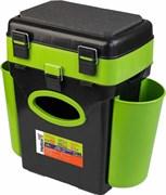 Ящик зимний Helios FishBox 10л двухсекционный зеленый