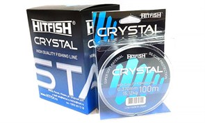 Леска HITFISH Crystal Ice d 0,261мм 7,63кг 100м