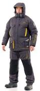 Камчатка 2020 костюм (таслан, серо-желтый) 48-50/182-188